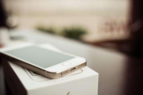 iPhone 5S Gold Connectors Detail