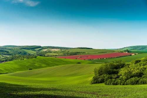 Moravian Scenery in Czechia
