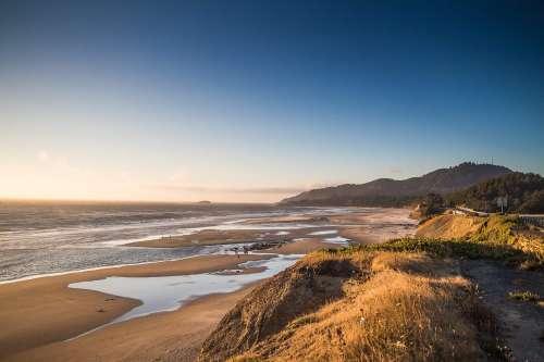 Ocean Coastline in Oregon