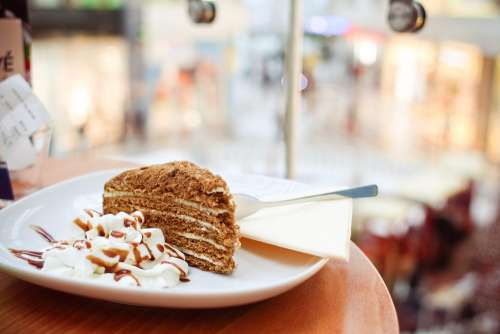 Piece of Honey Cake