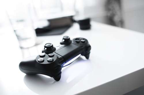 Sleek Playstation Controller
