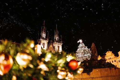 Prague Christmas Markets Vintage