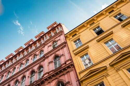 Random Buildings in Prague, Czechia