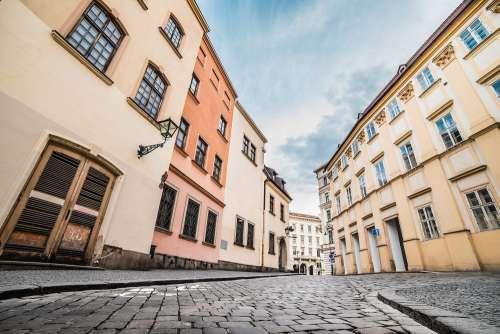 Random Historical Street in Czech Republic
