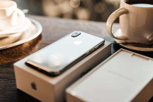 iPhone XS White Rear Camera