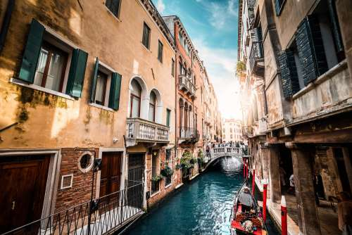 Venice Streets and Canals