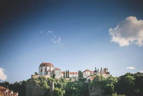 Vranov Castle #2: With Big Sky