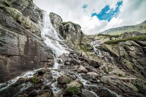 "Waterfall ""Skok"" in High Tatras, Slovakia"