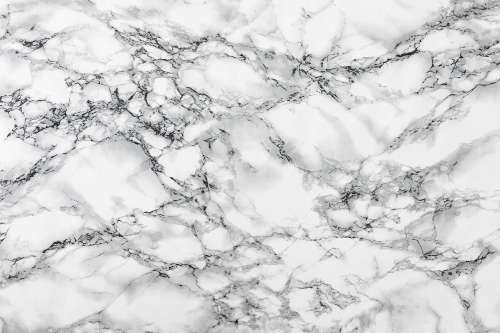 White Marble Stone Background Texture Pattern
