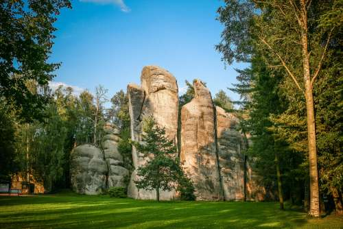 Wonderful Adrspach-Teplice Rocks