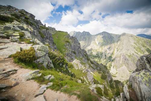 Wonderful High Tatras Mountains in Slovakia