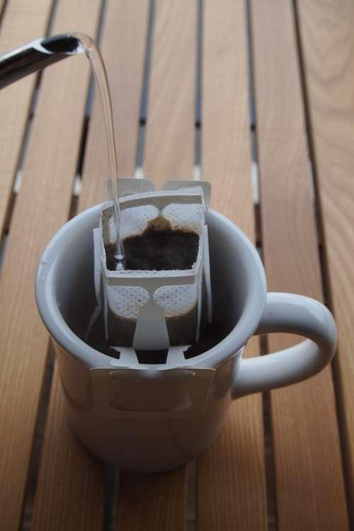 A Drip Bag Coffee Restaurant