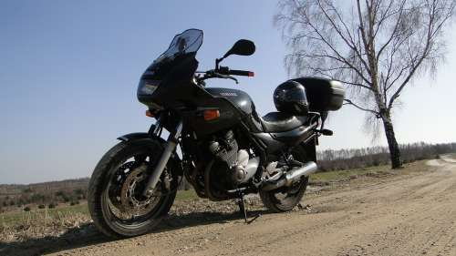 A Motorcycle Motor Yamaha The Vehicle Horse Sport
