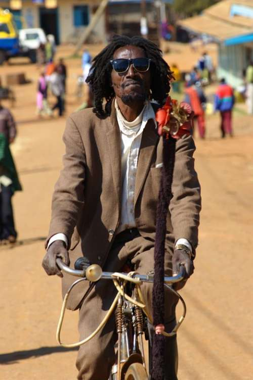 A Real Dreadlocks Bike Event