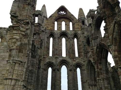 Abbey Castle Saint Monastery Yorkshire