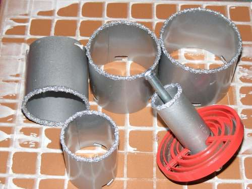 Abrasive Carbide Ceramics Concrete Core Cutters