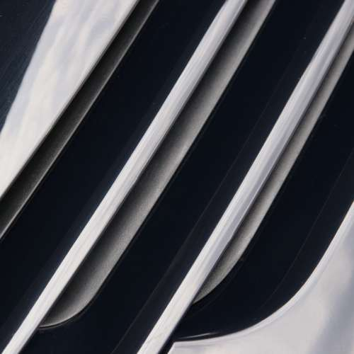 Abstract Grille Air Intake Auto Diagonal
