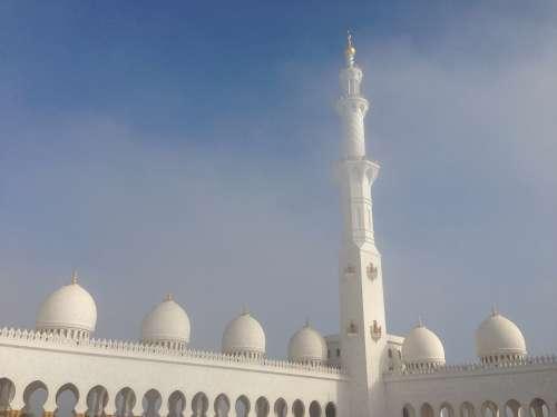 Abu Dhabi Architecture Building Islam Moshe