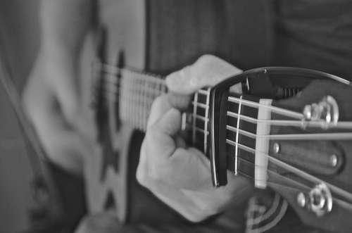 Acoustic Guitar Guitar Instruments Music Play