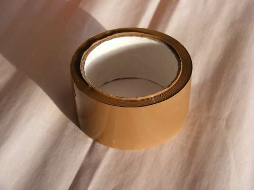 Adhesive Brown Buff Packaging Polyproylene Tape