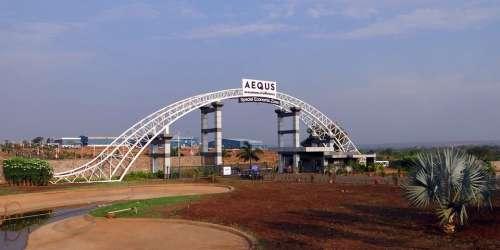 Aequs Economic Zone Manufacturing Entrance Gate