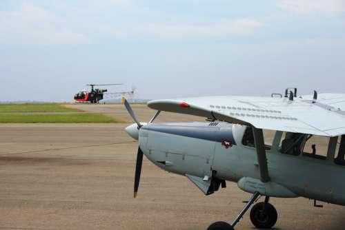 Aermacchi Bosbok Reconnaiscance Aircraft Airfield