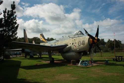 Aeroplane Plane Aircraft Military Navy Propeller