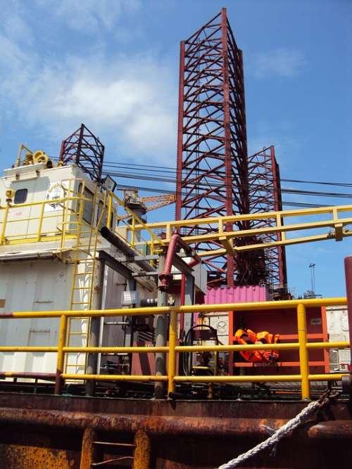 Africa Gabon Platform Drilling Travel