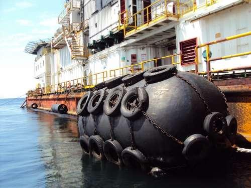 Africa Gabon Platform Drilling Yokohama Fender