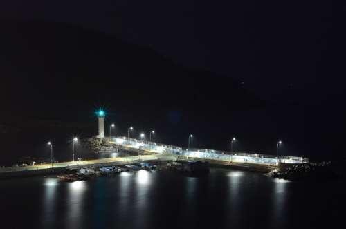 Ahgyeong Dock Lighthouse