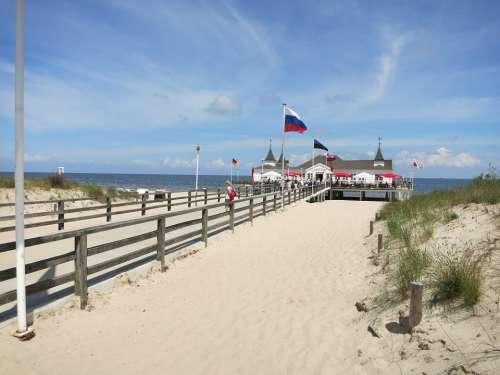 Ahlbeck Usedom Beach Sea