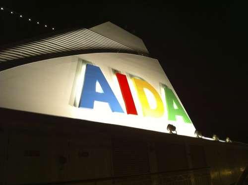 Aida Cruise Passenger Ship Ship Travel Vacations