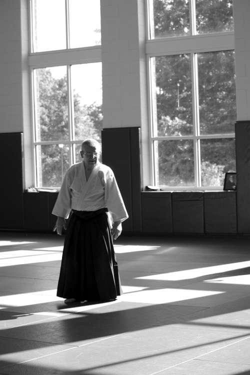 Aikido Martial Arts Self-Defense Learning Seminar