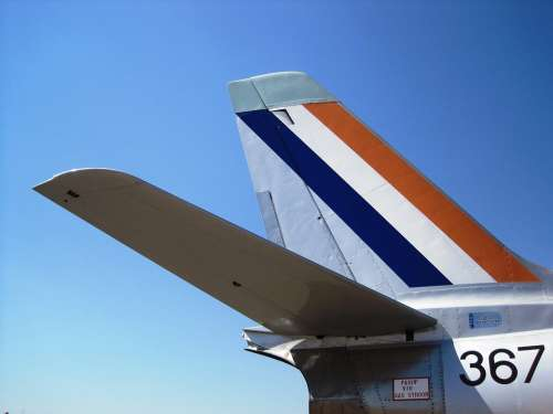 Aircraft Jet Fighter Tailplane Flag Colors