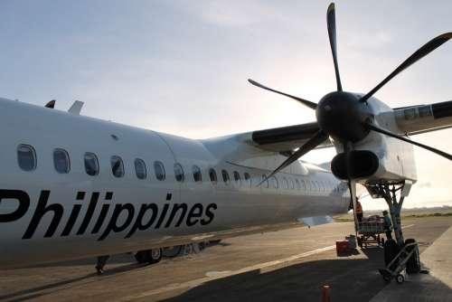 Airplane Propeller Philippines Transportation Air