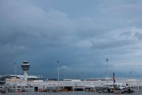 Airport International Munich Architecture Building