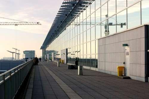 Airport Frankfurt Observation Deck Perspective