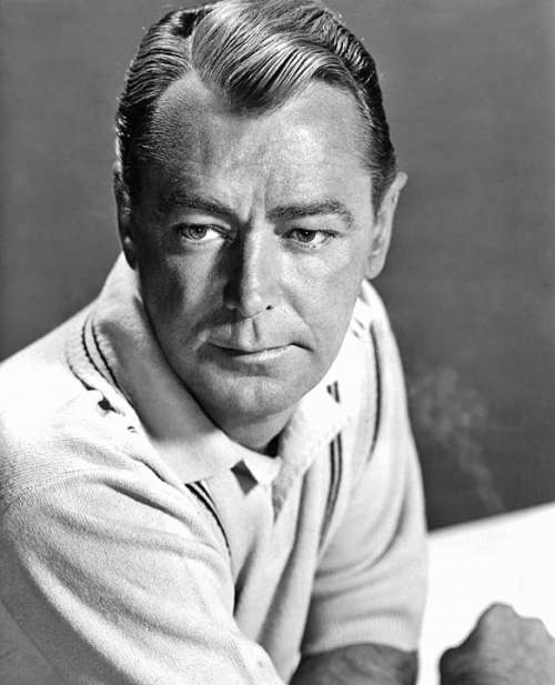 Alan Ladd Actor Film Television Producer Vintage