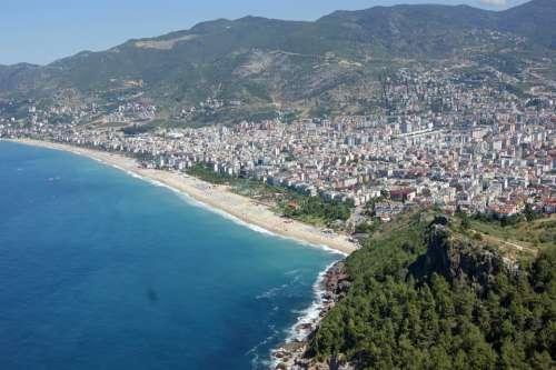 Alanya Turkey Panorama Water Sea Vacations