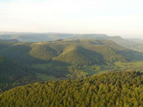 Alb Swabian Alb Landscape Outlook Vision Nature