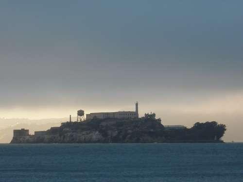 Alcatraz San Francisco Prison Cell Tract Crime Usa