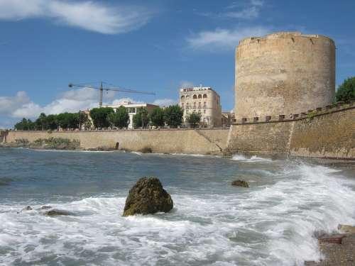 Alghero Sardinia Coast Historically Italy