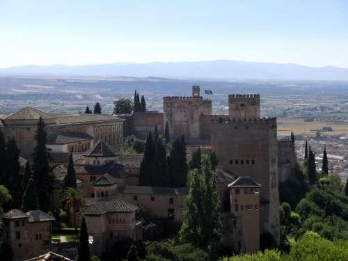 Alhambra Spain Andalusia Granada World Heritage