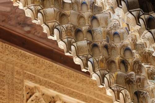 Alhambra Spain Granada Andalusia Palace Moorish