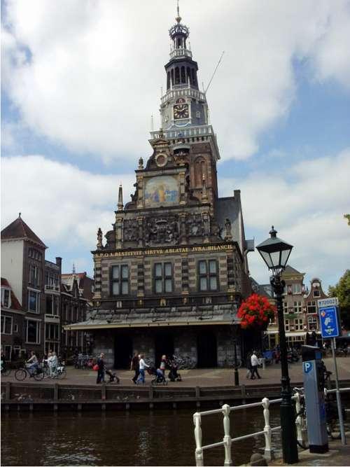 Alkmaar Netherlands Canals
