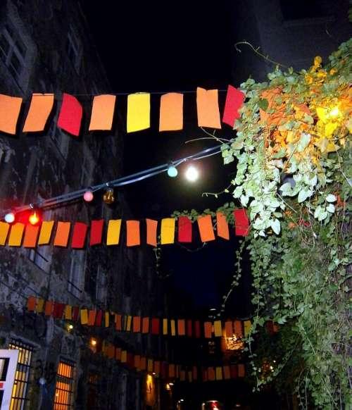 Alley Lane Pennant Flag Garland Celebrate