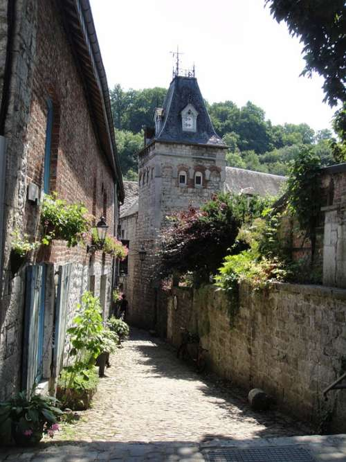 Alley Durbuy Belgium Ardennes Old Romantic
