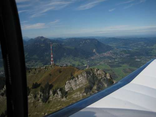 Allgäu Greened Durach Flight Mountain Cessna