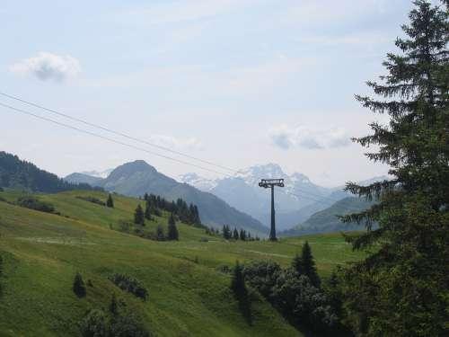Allgäu Mountains Nature Distant Hochalm