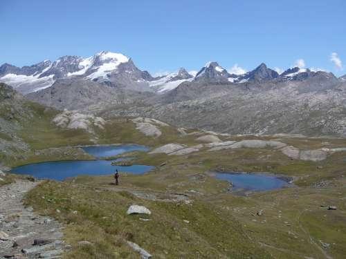 Alpine Lakes Landscape Mountains